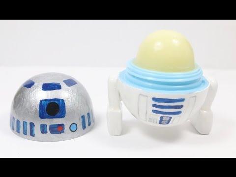 DIY EOS Lip Balm: R2-D2 Tutorial