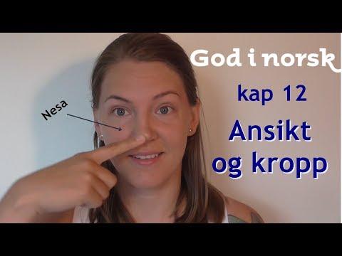 God i norsk - Kap 12 - Ansikt og kropp (Aschehoug)