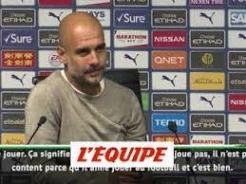 """MCF - Pep Guardiola : """"Mahrez a quelque chose de spécial"""""""