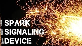 Sparking Signaling Device for Wilderness Survival