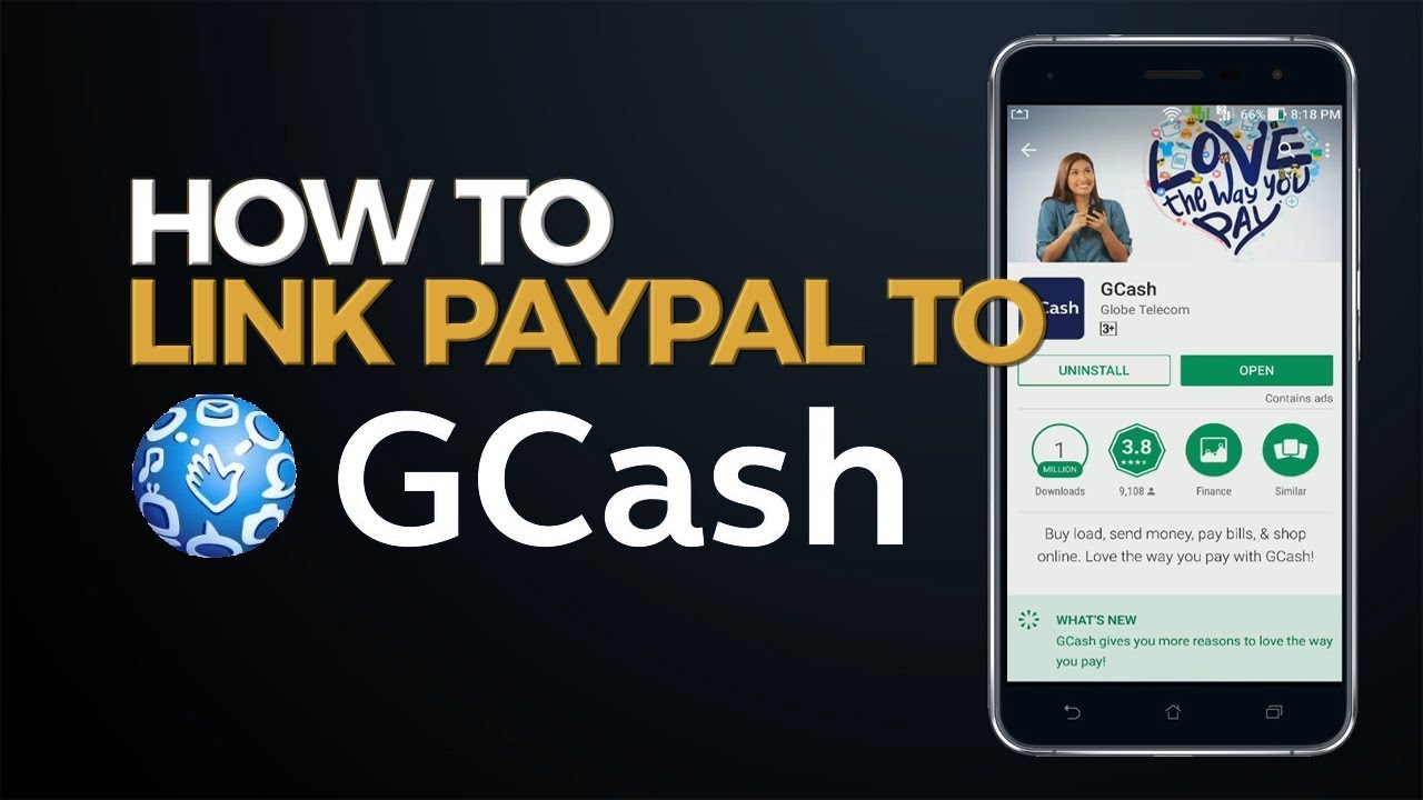 GCash Tutorial: How to Link Paypal to GCash
