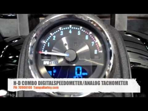 H-D COMBINATION DIGITAL SPEEDOMETER/ANALOG TACHOMETER - 4
