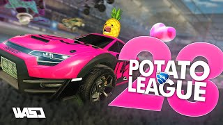 POTATO LEAGUE #23 | Rocket League Funny Moments & Fails