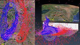 Electric Terraforming - Mt. Kilimanjaro to Mt. Kenya Region 3D Simulation