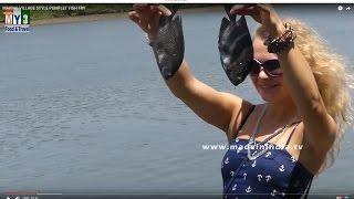MAKING VILLAGE STYLE POMFLET FISH FRY