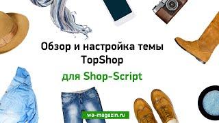 Обзор и настройка темы TopShop