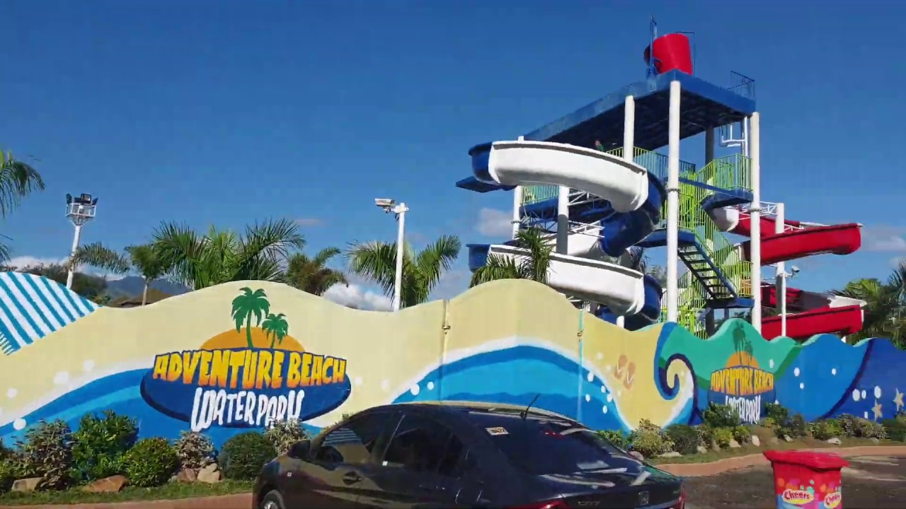 Adventure Beach Waterpark Entrance Subic Philippines