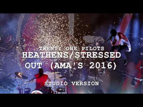 (Studio Version) Heathens/Stressed Out | twenty one pilots at the AMAs 2016