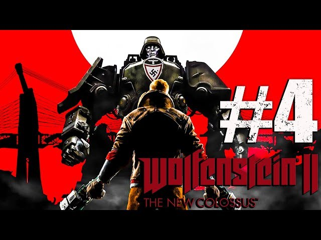 Nuked Town (AREA 52) Wolfenstein The New Colossus - Part 4 - 4K