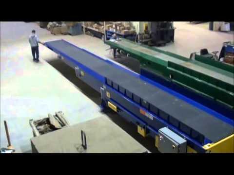 3 Stage Extendable Belt Conveyor