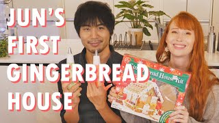 Trying to make an expired gingerbread house