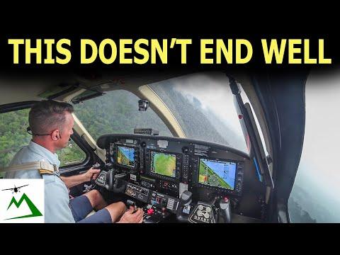 WARNING! Stressful Rain Storms AHEAD   Bush Pilot Flight Vlog