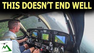 WARNING! Stressful Rain Storms AHEAD | Bush Pilot Flight Vlog