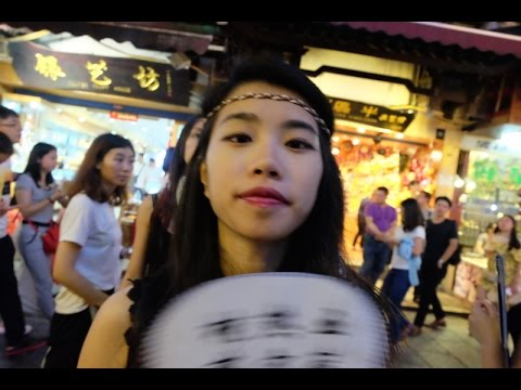 Mysterious China - Guilin (Yangshuo) Part III: Chinese night club dance & Flood on street