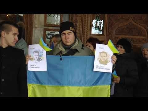 МТВ-плюс Мелитополь: Акція на підтримку полонених українців
