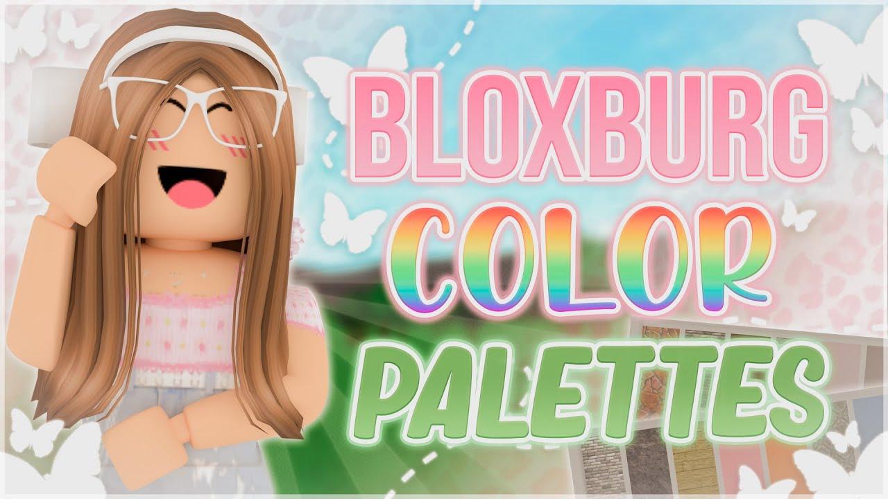 5 Aesthetic COLOR PALETTES/SCHEMES For You!   Roblox Bloxburg ♡