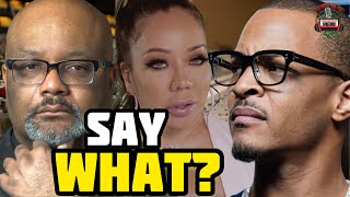Dr Boyce Watkins Totally Shocks The Industry With This Info About T.I. & Tiny's Sexual Allegations
