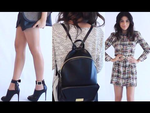 Fashion Haul (Try On) - Teni Panosian - 동영상