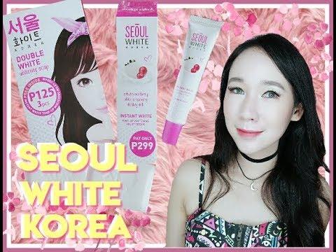 Seoul White Korea Whitening Soap and Cream: First Impression ...