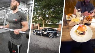 Burnouts, Biceps and Burgers - EP. 1 | BICEP workout