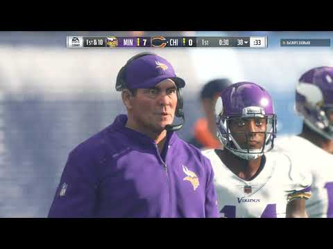 Madden 18 - A Holding Penalty That Hurt My Soul! Madden NFL 18 Online Ranked Match-Bears Vs. Vikings