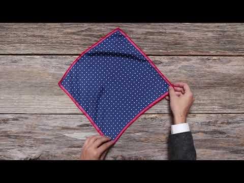 Hướng Dẫn Gấp Khăn Cài Túi áo Vest Pocket Square - AdamZone