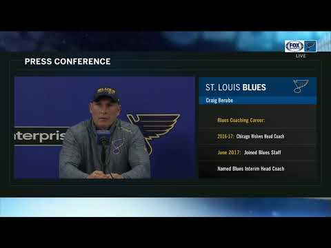 Blues' Berube: 'We've got to instill some confidence back in this hockey team'
