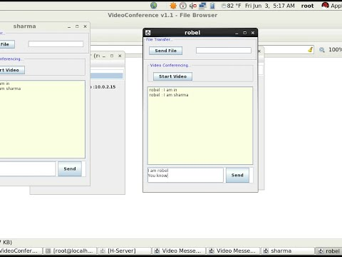 VideoConference source code in Java with JMF