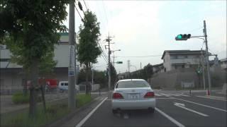 車載動画 千葉市緑区おゆみ野を走る
