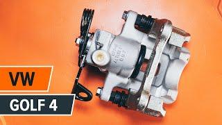 Kako zamenjati zadnjo zavorno čeljust na VW GOLF 4 [VODIČ]