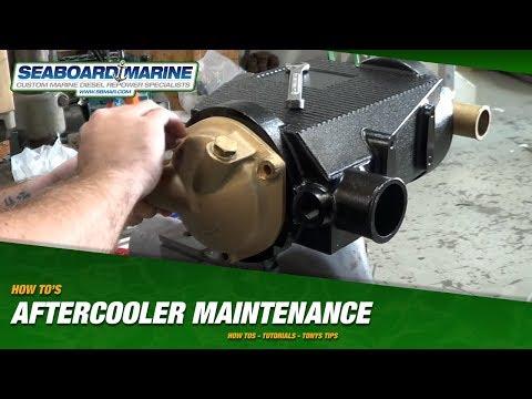 Cummins Marine B-Series Aftercooler Maintenance How To