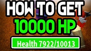 HOW TO GET 10K HEALTH | ONE PIECE BIZARRE ADVENTURES | ROBLOX