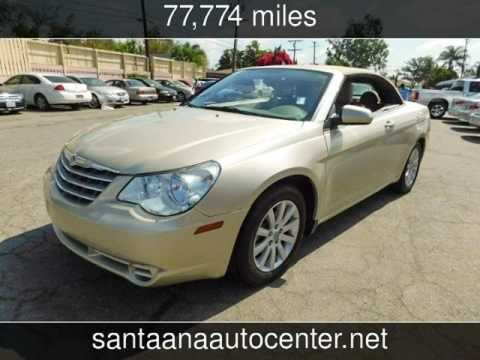 2010 Chrysler Sebring Touring Used Cars Santa Ana California 2017 05 19
