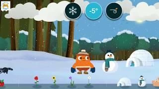 Учим Погоду Игра Видео познавательное для детей
