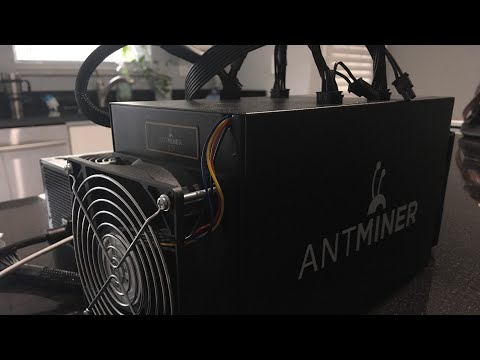 Solar Powered Bitcoin Antminer S3 Setup