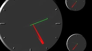 """30 sec clock countdown timer (v. 41) countdown timer with Sound effects - ticking clock """"24""""h HD"""
