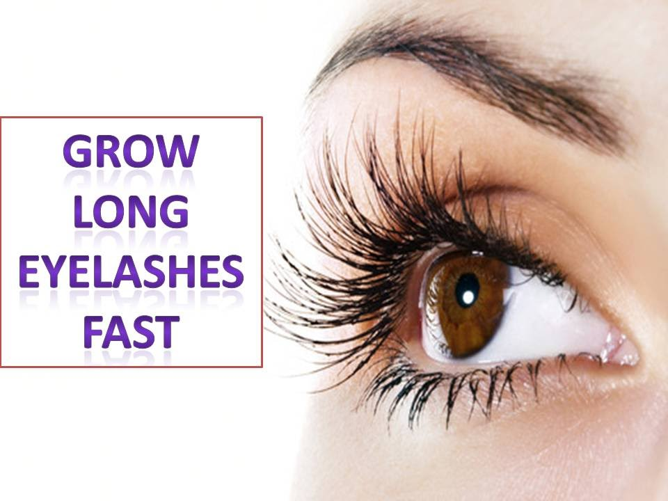 How To Get Long Lashes Naturally Fast