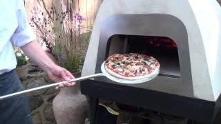 Помпейская печь (пицца с оливками)