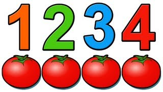"""Counting Tomatoes"" - Kids Learn to Count 1234, Education for Babies, Toddlers, Preshool Children"
