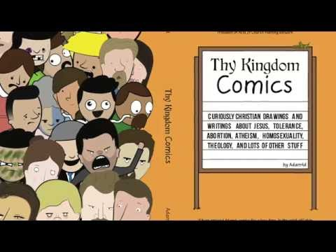 ★★★★★ Thy Kingdom Comics: Curiously Christian drawings and writings about Jesus - Amazon