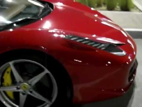 Abu Dhabi Ferrari 458 Italia Rosso Corsa