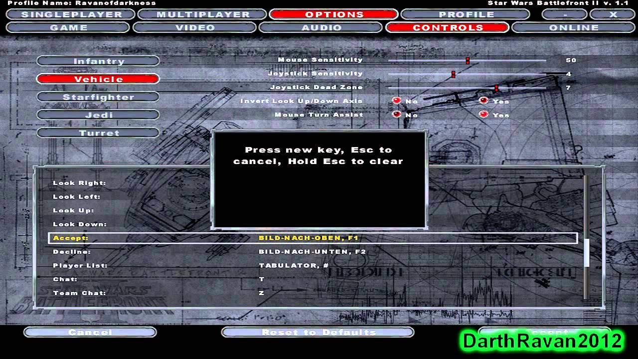 Star Wars: Battlefront 2 (Xbox360 Controller Setup ...