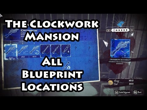 Dishonored 2 - The Clockwork Mansion - Blueprints