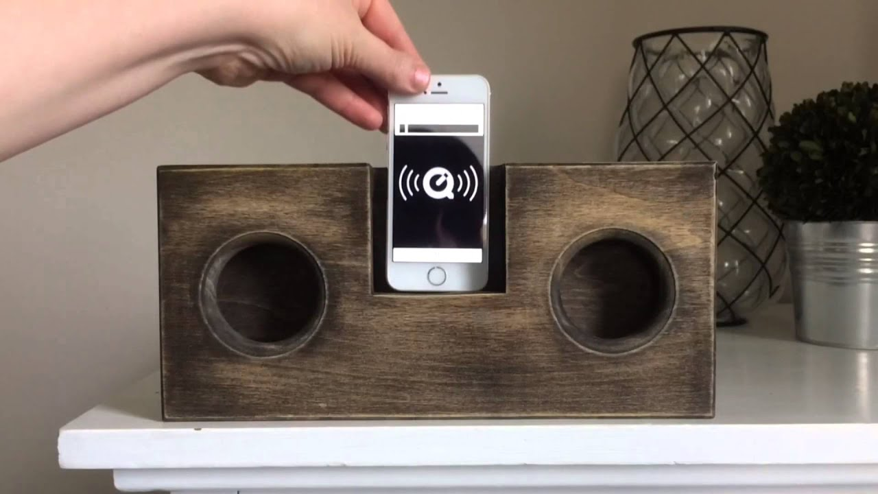 Diy Wooden Phone Amplifier Speaker No Cord Or Batteries
