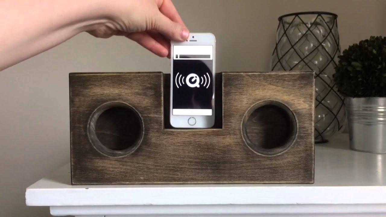 DIY Wooden Phone AmplifierSpeaker no cord or batteries