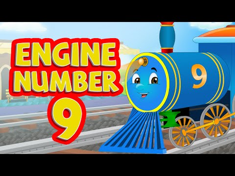 Engine Engine Number 9 Nursery Rhymes for Children