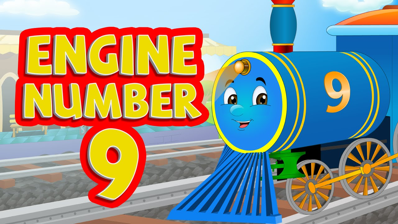 engine engine number 9 nursery rhymes for children youtube