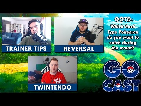 GO CAST - ROCK EVENT, GYM REWORK, & FUTURE CONTENT - THE POKÉMON GO PODCAST