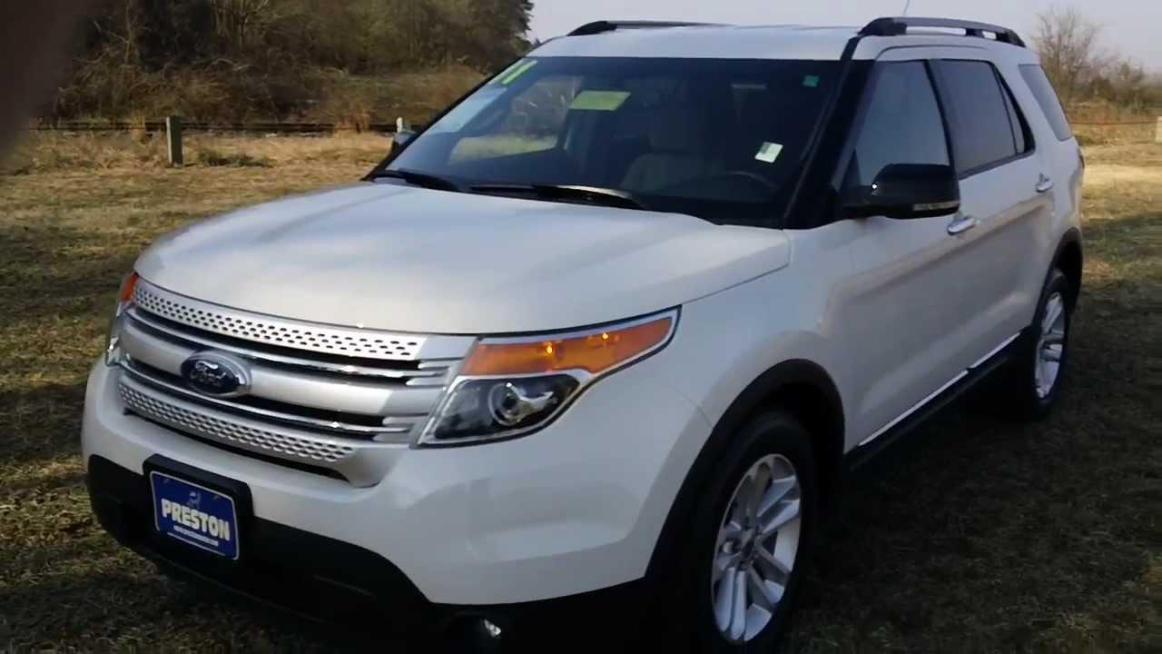 2011 Ford Explorer XLT used car sale Maryland Ford Dealer - YouTube