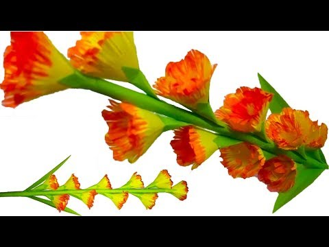 DIY:- Craft Tutorial How to Make Paper Flower Stick | Awesome Paper Flowers